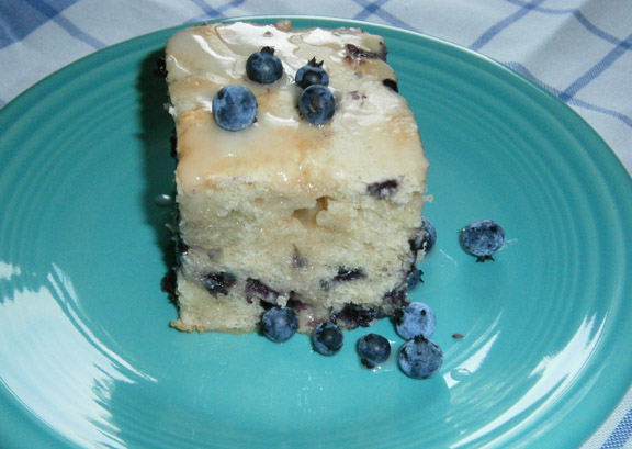 Classic Maine Blueberry Cake