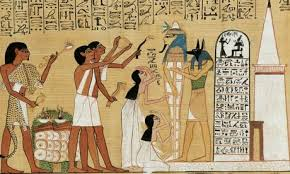 Ancient Egyptians utilized plants and Essential Oils in everyday life, and in death.